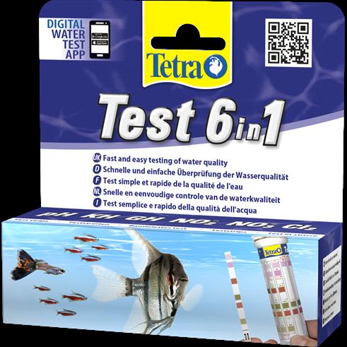 tetra test 6in1 wasserwerte testen