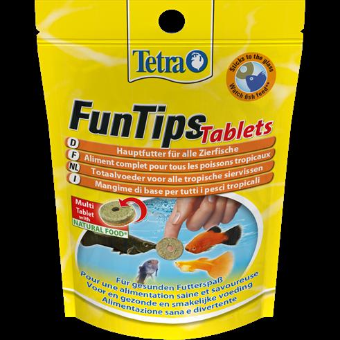 Tetra FunTips Tablets - Leckerbissen für Fische - Leckerli