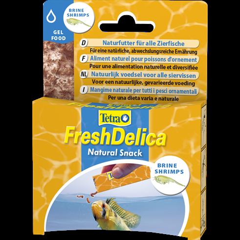 Tetra FreshDelica Brine Shrimps - Leckerbissen für Fische - Leckerli