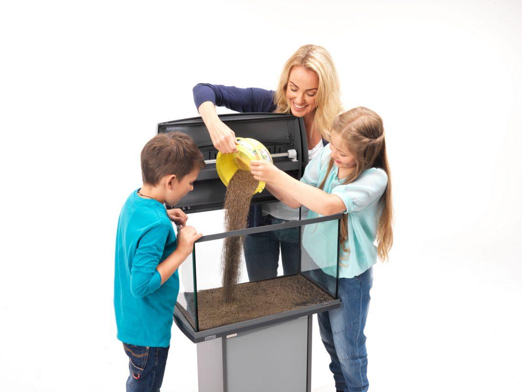 Aquarium einrichten Aquarium einrichten leicht gemacht Schritt für Schritt Anleitung Bodengrund