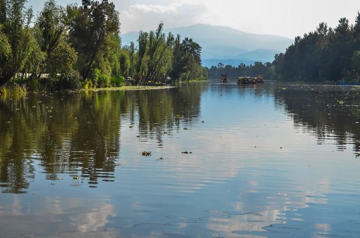 Один из каналов озера Ксочимайлко
