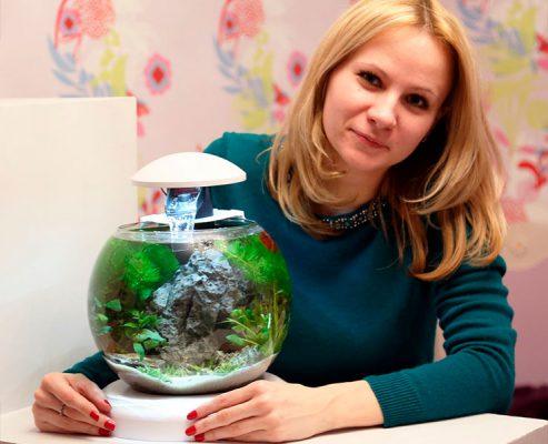 Евгения Моисеева – профессиональный аквадизайнер