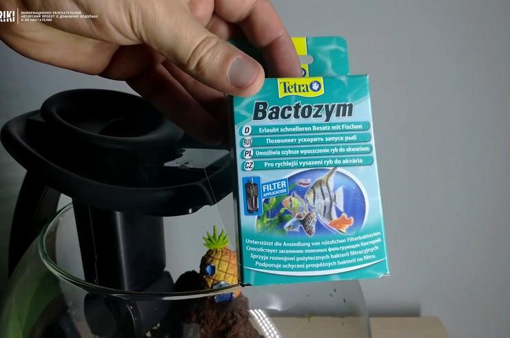 Tetra Bactozym создает на губке фильтра питательный слой для полезных бактерий