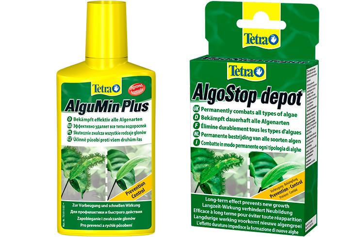 Tetra AlguMin и Tetra AlgoStop depot помогут в борьбе с нитчатыми водорослями