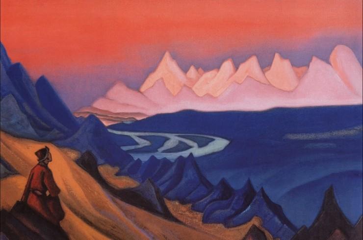 Картина Н. Рериха «Песнь о Шамбале» (1943)