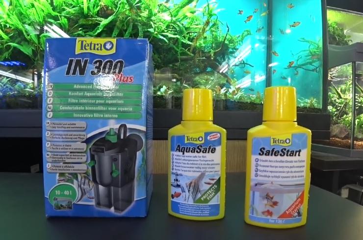 Препараты для быстрого запуска аквариума