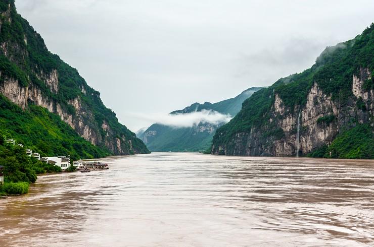 Река Янцзы в северном Китае – естественное местообитание чукучана