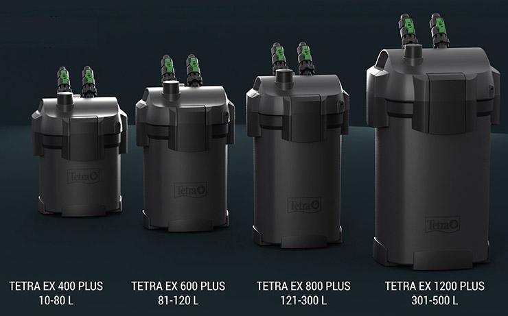 Линейка внешних фильтров Tetra EX