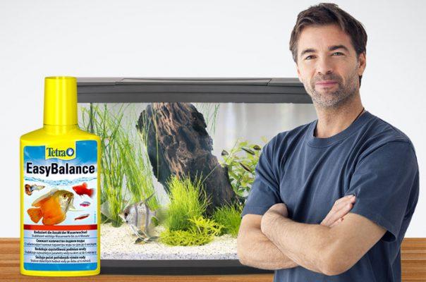 Tetra EasyBalance сокращает интервал подмен воды до двух раз в год