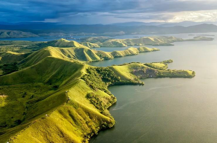 Озеро Сентани (Индонезия) – родина красных глоссолеписов