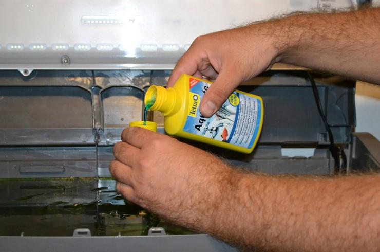 Tetra AquaSafe сделает водопроводную воду безопасной для рыб