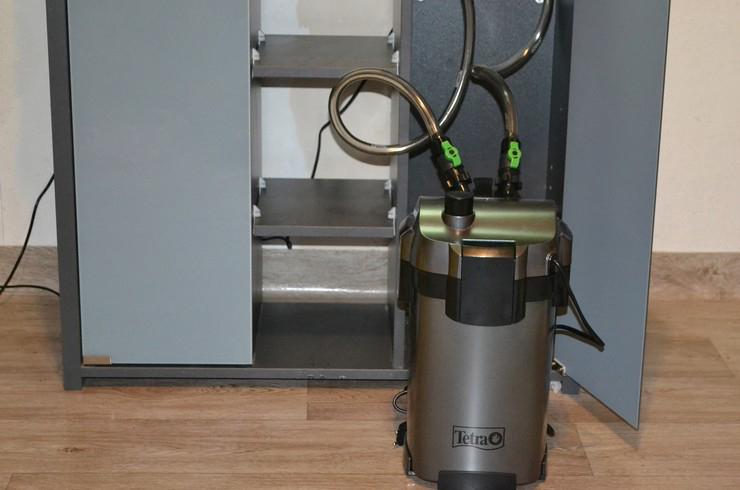 Внешний фильтр обеспечивает максимальный уровень очистки воды